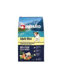 Ontario Adult Mini 7 Fish & Rice 6,5kg