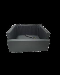 Fotelik do samochodu dla psa wodoodporny czarny