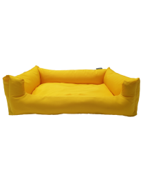 Legowisko dla psa wodoodporne żółte