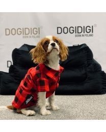 Koszula w kratę dla psa