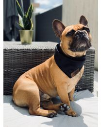Bandamka dla psa czarna