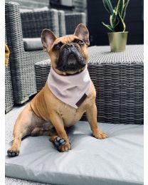 Bandamka dla psa różowa