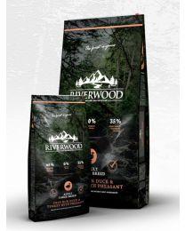 Karma Riverwood dla psów Dorosłych dużych ras z Kaczką, Indykiem i Bażantem 12 kg