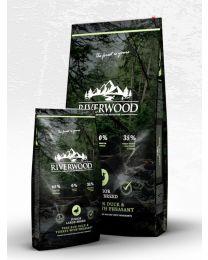 Karma Riverwood dla psów Juniorów dużych ras z Kaczką, Indykiem i Bażantem 12 kg