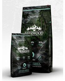 Karma Riverwood dla Szczeniąt z Indykiem, Kaczką i Bażantem 12 kg